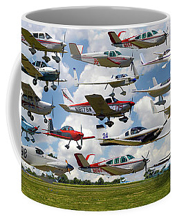 Big Muddy Fly-by Collage Coffee Mug