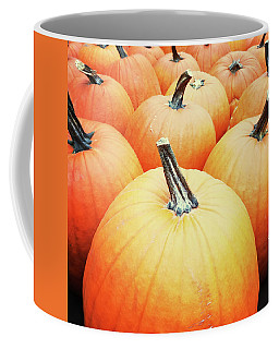 Big Orange Pumpkins Coffee Mug