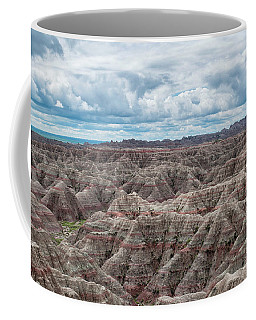 Big Overlook Badlands National Park  Coffee Mug