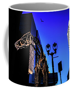 Big Piney Sculpture In Downtown Milwaukee Coffee Mug