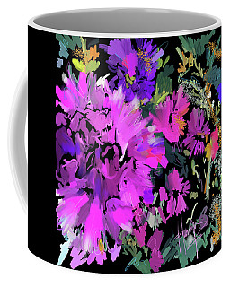 Big Pink Flower Coffee Mug