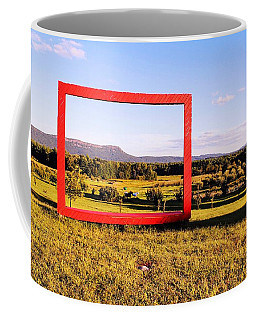Big Red Frame Easthampton Coffee Mug