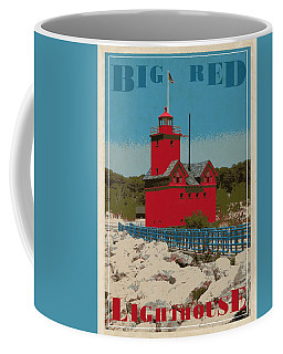 Big Red From The Pier Coffee Mug