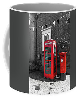 Coffee Mug featuring the photograph Big Red Little Red by Scott Carruthers