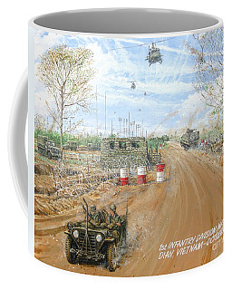 Big Red One Main Gate Di An Vietnam 1965 Coffee Mug