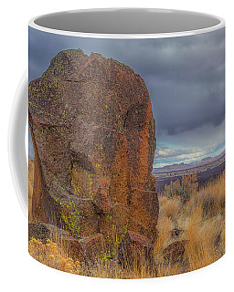 Big Rock At Lava Beds Coffee Mug
