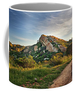 Big Rock Coffee Mug by Endre Balogh
