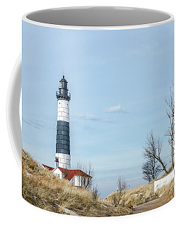 Coffee Mug featuring the photograph Big Sable Point Lighthouse And Tower by Sue Smith