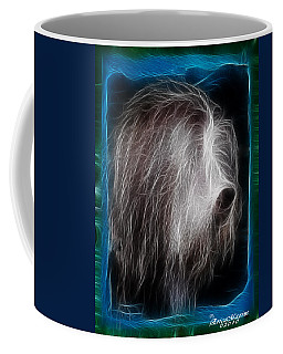 Big Shaggy Dog Coffee Mug by EricaMaxine  Price
