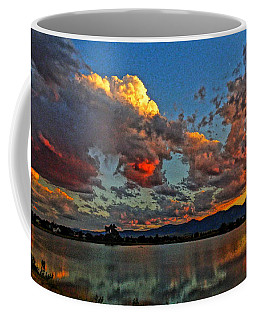 Coffee Mug featuring the photograph Big Sky by Eric Dee