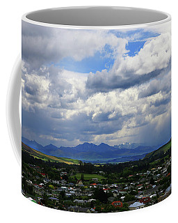 Big Sky Over Oamaru Town Coffee Mug