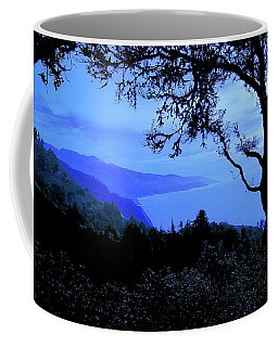 Big Sur Blue, California Coffee Mug