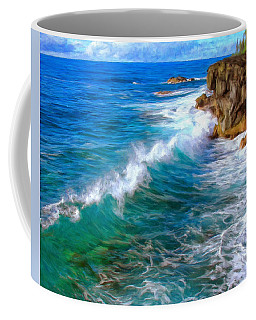 Big Sur Coastline Coffee Mug