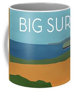 Big Sur Landscape- Art By Linda Woods Coffee Mug