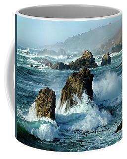 Big Sur Winter Wave Action Coffee Mug