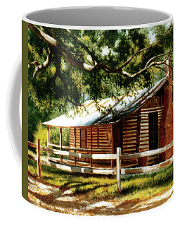 Big Thicket Information Center_the Staley Cabin Coffee Mug