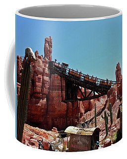 Big Thunder Mountain Walt Disney World Mp Coffee Mug by Thomas Woolworth