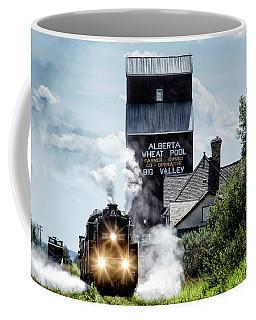 Big Valley Steam Coffee Mug by Brad Allen Fine Art