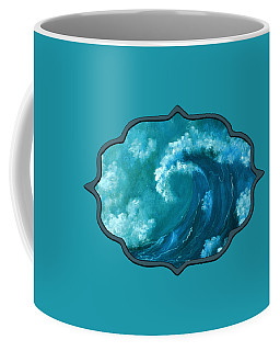 Big Wave Coffee Mug by Anastasiya Malakhova