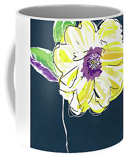 Big Yellow Flower- Art By Linda Woods Coffee Mug