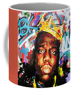 Coffee Mug featuring the painting Biggy Smalls IIi by Richard Day