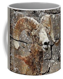 Bighorn Petroglyph Coffee Mug