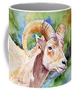 Bighorn Sheep Portrait Coffee Mug