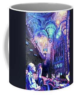 Coffee Mug featuring the painting Bijou by Bonnie Lambert