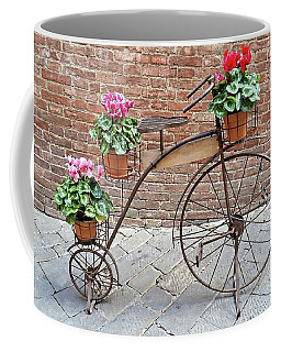 Bike Art - Siena, Italy Coffee Mug