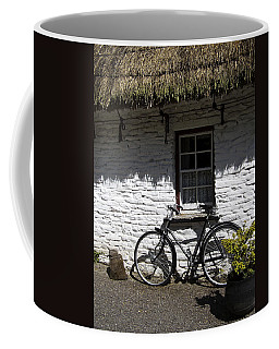 Bike At The Window County Clare Ireland Coffee Mug