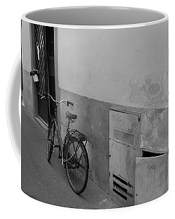 Bike In Alley Coffee Mug