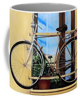 Bike In The Window Coffee Mug