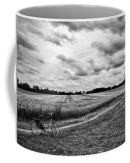 Bike Ride Coffee Mug by Karen Stahlros