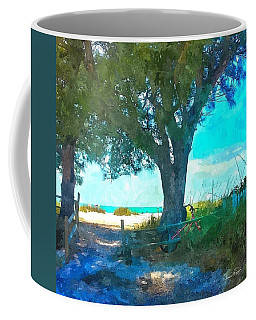 Bike To The Beach Coffee Mug
