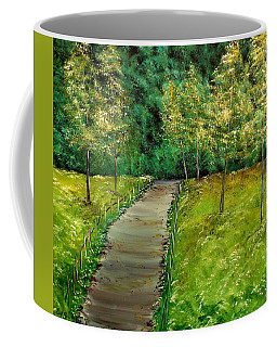 Bike Trail Coffee Mug