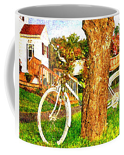 Bike With Flowers Coffee Mug