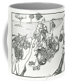 Biker Wedding Coffee Mug