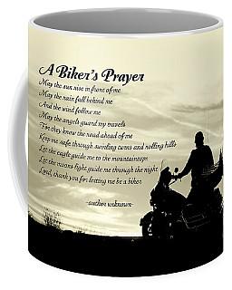 Biker's Prayer Coffee Mug