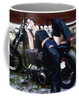 Bikes And Babes Coffee Mug
