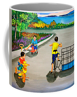 Bikes Coffee Mug by Cyril Maza