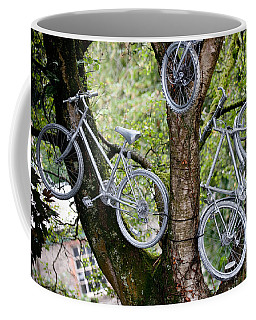 Bikes In A Tree Coffee Mug