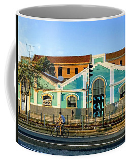 Biking In Lisboa Coffee Mug