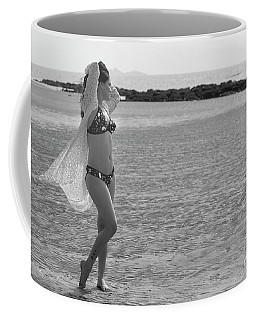 Bikini Girl Coffee Mug by Kiran Joshi
