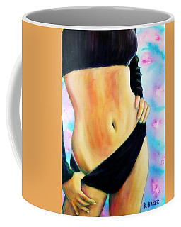 Bikini Swimsuit Girl Colorful Coffee Mug