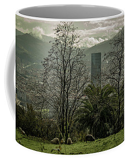 Bilbao Spain From Above Coffee Mug