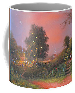 Bilbo's Eleventy-first Birthday Party Coffee Mug by Joe  Gilronan