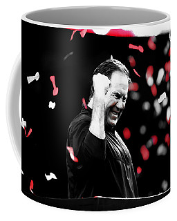 Bill Belichick Superbowl Victory Coffee Mug