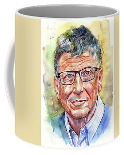 Bill Gates Portrait Coffee Mug