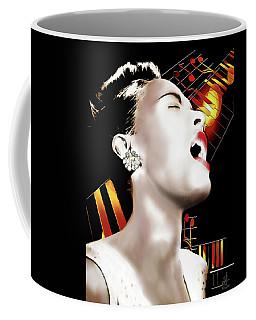 Billie Holiday Coffee Mug by Pennie McCracken