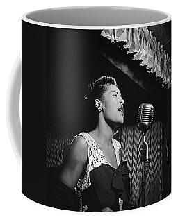 Billie Holiday William Gottlieb Photo New York City 1947 Coffee Mug